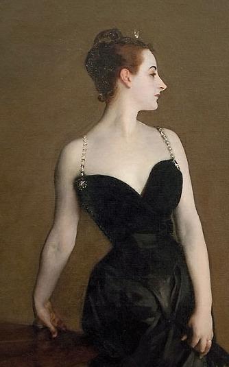 Картинки по запросу John Singer Sargent Portrait of Mme X