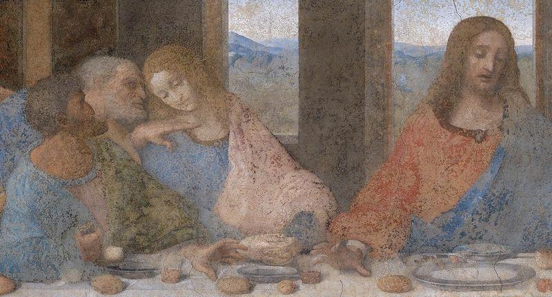 The Last Supper | artble.com Da Vinci Last Supper High Resolution
