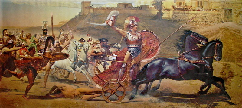 Evidence for the Trojan War. - A-Level History - Marked by Teachers ...
