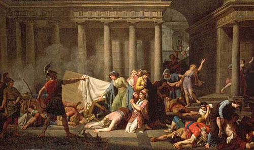 the conflict between agamemnon and achilles in homers the iliad The iliad essay  agamemnon achilles is driven primarily by a thirst for glory  homers epic poem starts off nine years into the war,.