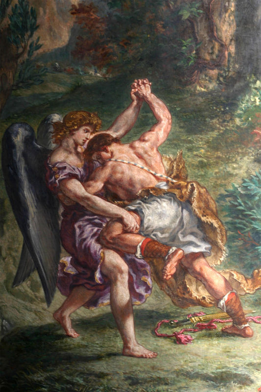 Image result for jacob wrestling with the angel