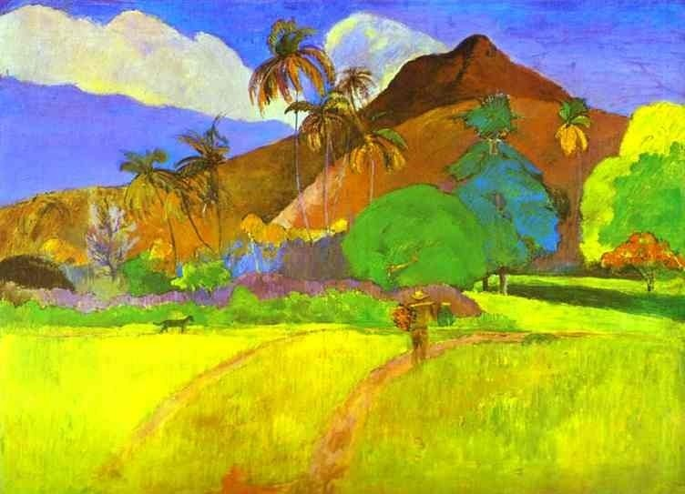 Paul Gauguin Style And Technique
