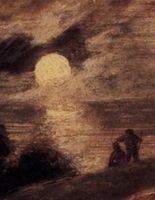 Cropped - Dune Landscape by Moonlight