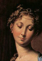 Parmagianino madonna with the long neck
