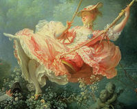 The swing by fragonard is a classic example of painting from what period