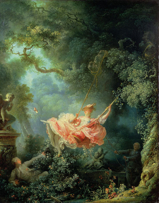 Image result for The Swing Jean-Honor Fragonard