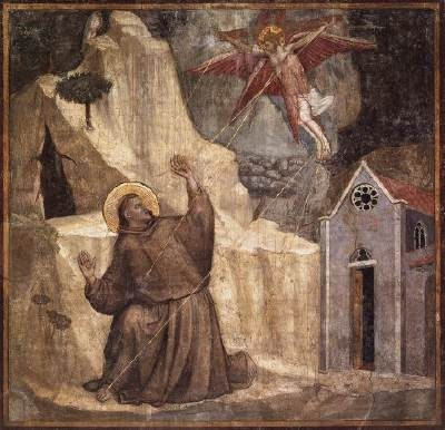 Image result for stigmata of st francis giotto