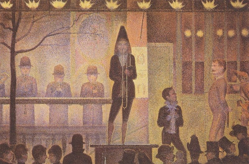 georges seurat the circus - photo #14
