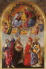 Coronation of the Virgin with the Saints John the Evangelist Augustine Jerome and Eligius