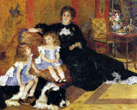 Madame Charpentier and Her Children