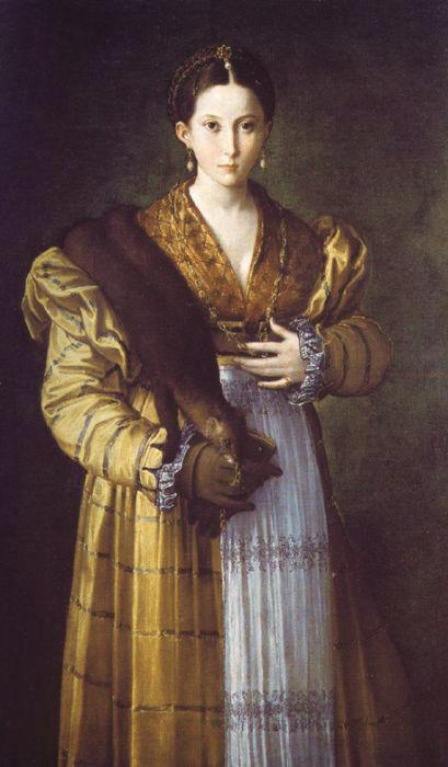 Parmigianino for Autoportrait miroir