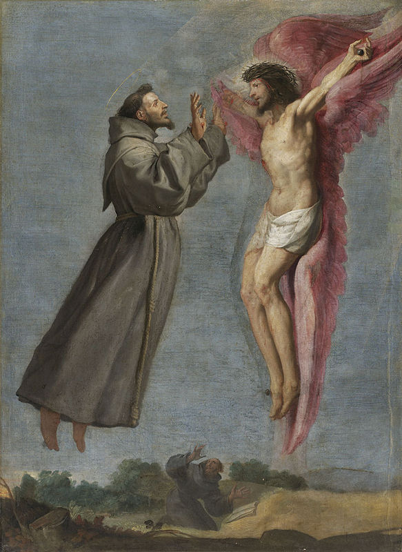 Stigmatization of St. Francis (Louvre) | artble.com Ljubicic