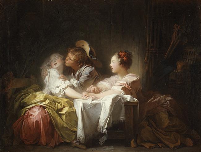 Fragonards erotic art