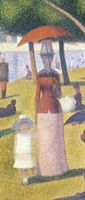 Cropped - A Sunday Afternoon on the Island of La Grande Jatte