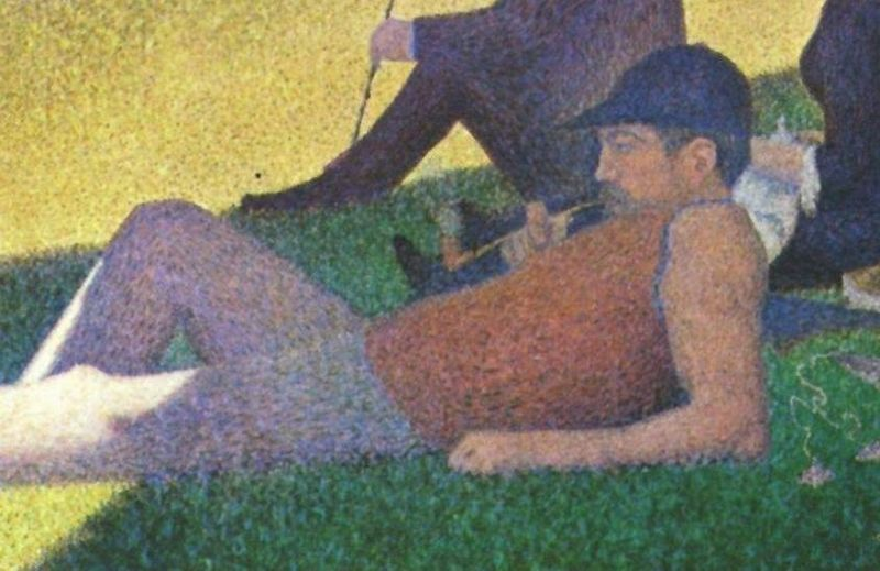 a sunday on la grande jatte A sunday afternoon on the island of la grande jatte is a painting by george seurat.