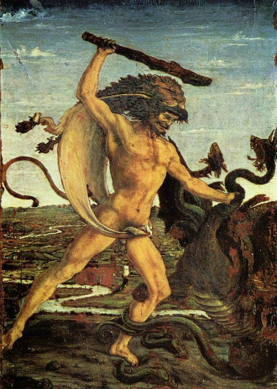 At the age of 14 Botticelli's father placed him under the artistic direction ...