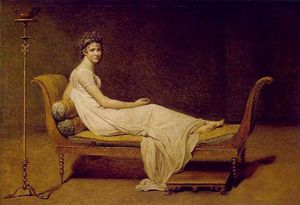 Artwork similar to grand odalisque by another artists
