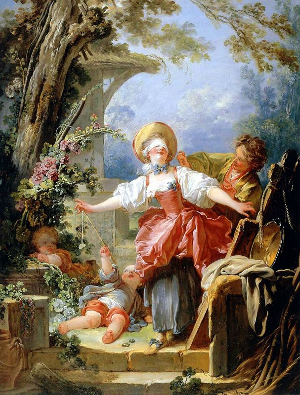 Jean honore fragonard biography for Rococo period paintings