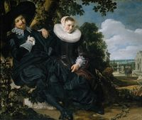 Double Portrait of a Couple