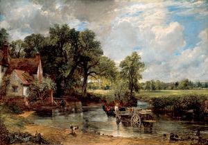 John constable the haywain 1821
