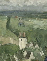 Cropped - View of Auvers sur Oise
