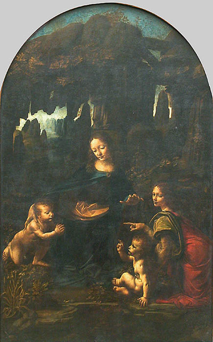 The virgin of the rocks da vinci