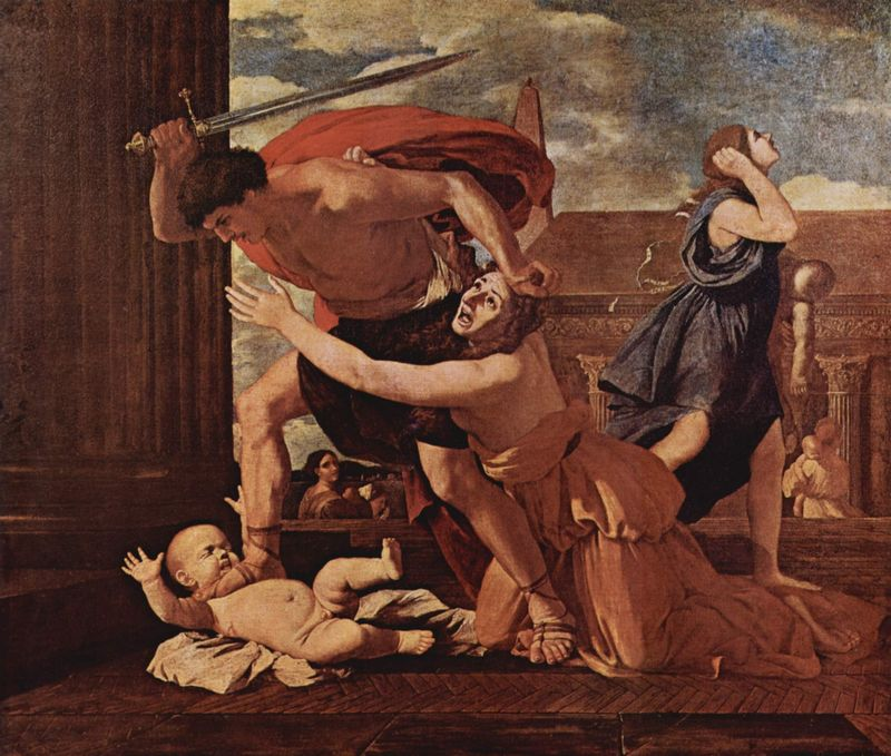 Image result for slaughter of the innocents painting