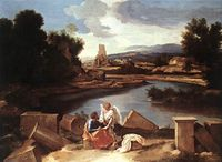 Landscape with Saint Matthew and the Angel