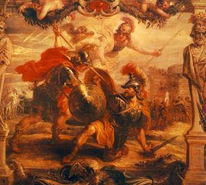 Achilles Slays Hector