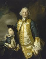 Admiral Francis Holburne 1704-71 and his son Sir Francis 4th Baronet 1752-1820