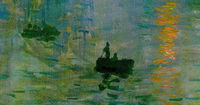 Who painted impression: sunrise which played a significant role in giving impressionism its name