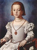Portrait of Bia Medici Daughter of Cosimo