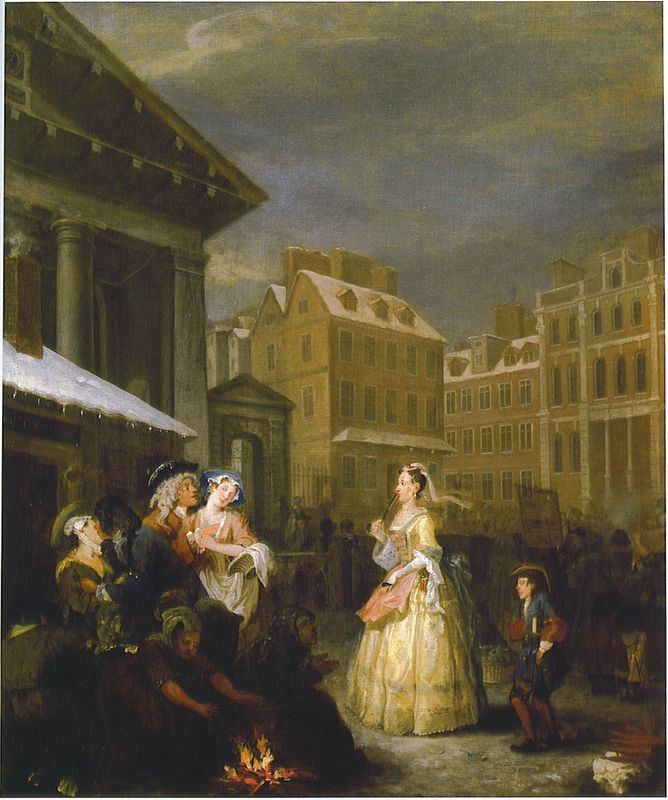 William hogarth for William hogarth was noted for painting