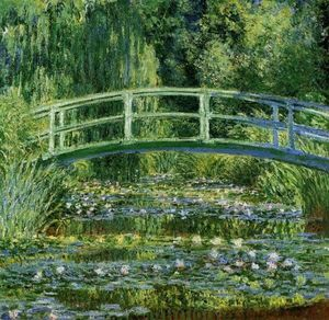 Monet painting style and technique