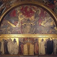 Sargent's Frieze of Prophets—a procession of sixteen life-sized figures