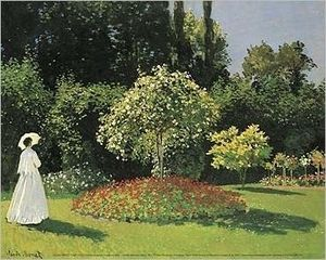 Monet style painting