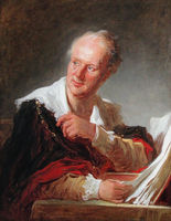 Portrait of Denis Diderot