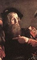 The calling of saint matthew by caravaggio uses what technique