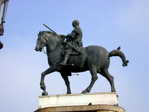 Equestrian Statue of GattamelataDonatello Equestrian Statue Of Gattamelata