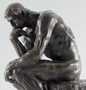 The thinker sculpture analysis essay