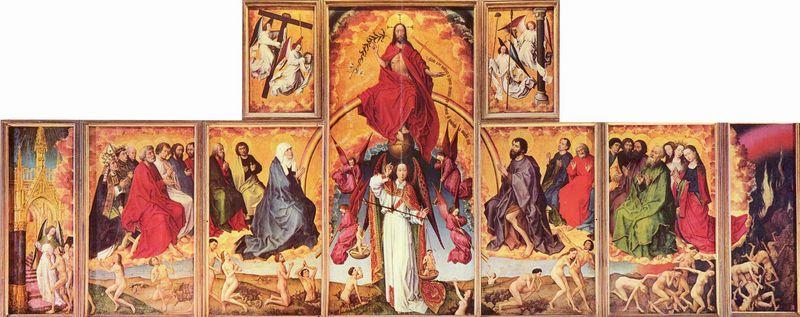 Altarpiece of the Last Judgement   artble.com Michelangelo Portrait Raphael