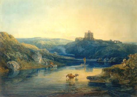 Norham Castle On The Tweed Sunrise
