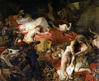 The Death of Sardanapalus