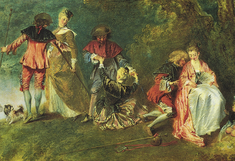 Cropped - Embarkation for CytheraReturn From Cythera By Antoine Watteau