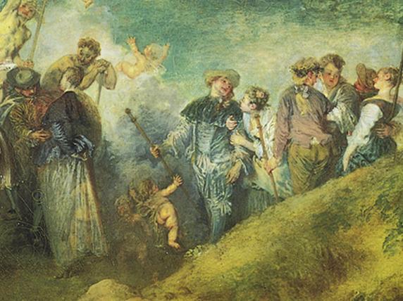 Antoine Watteau Return From Cythera Antoine watteauReturn From Cythera By Antoine Watteau