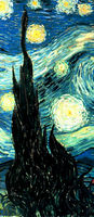 Starry night aesthetic