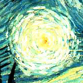 What is the meaning of starry night painting