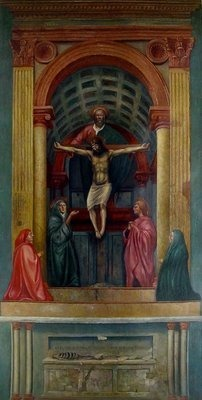 the holy trinity masaccio humanism