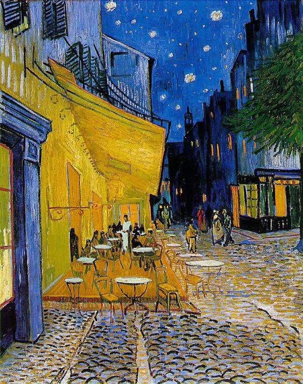van gogh starry night description