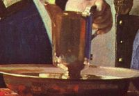 Cropped - Young Woman with a Water Pitcher